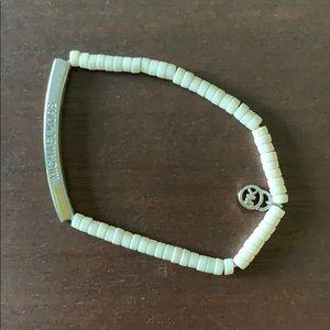 Michael Kors bracelet, stretch band